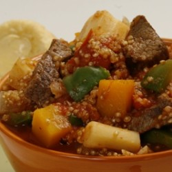Butternut, Beef and Quinoa Stew