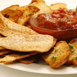 Homemade Chips and Crackers