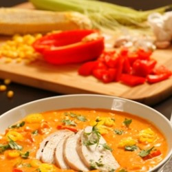Hot Chilli Corn Chowder