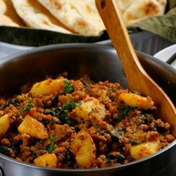 Indian Black Bean Chilli