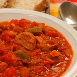 Italian Sausage and Tomato Stew