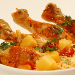 Pineapple Braised Chicken