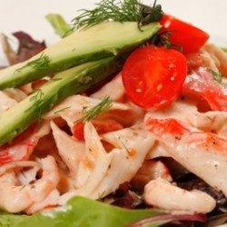 Shrimp & Imitation Crab Salad