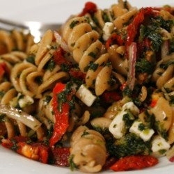 Mediterranean Whole Wheat Pasta Salad