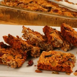 Cranberry Chia Granola Bars