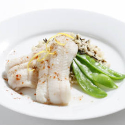 Lemon Poached Sole