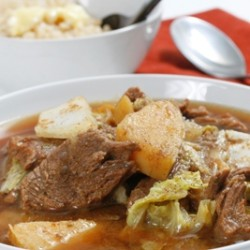 Ginger Beef Stew