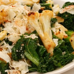 Kale Cauliflower Saute