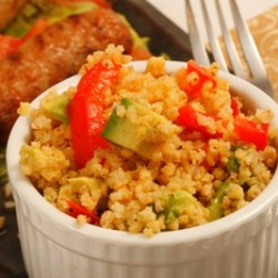 Millet Avocado Salad