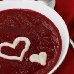 Ruby Red Beet Soup