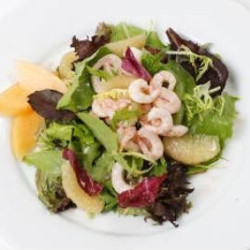 Shrimp Salad with Grapefruit Vinaigrette