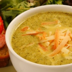 Smoked Cheddar & Broccoli Soup