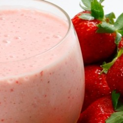 Strawberry Oat Milkshake