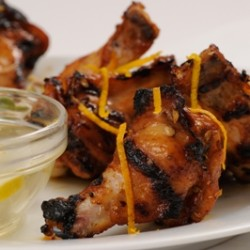 Sweetly Spiced Marinated Chicken Wings