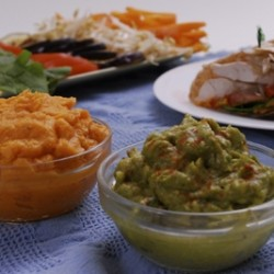 Yam and Avocado Spreads