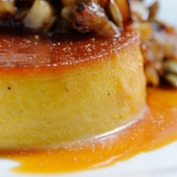 Spiced Pumpkin Flan