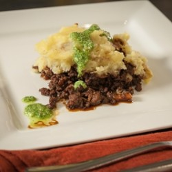 Bison Shepherd's Pie