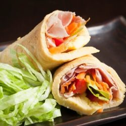 Low-carb Crepe Rolls