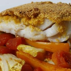 Corn Meal Crusted Cod