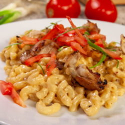Thai Curry Raclette Mac and Cheese