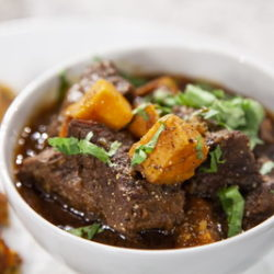 Island Pastures Beef and Coffee Stew