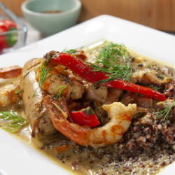 Surf and Turf Coconut Curry